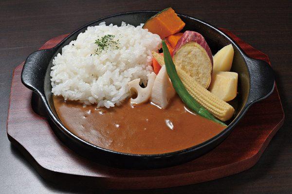 キッチン飛騨筏橋店 野菜カレー